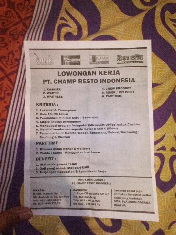 "<img src=""Image URL"" title=""PT. Cham Resto Indonesia"" alt=""PT. Cham Resto Indonesia""/>"