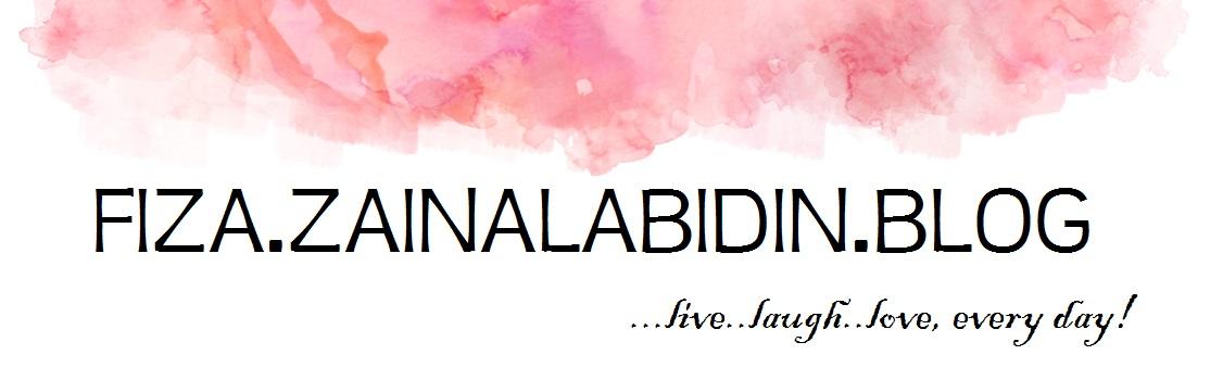 Fiza.Zainal.Abidin's Blog