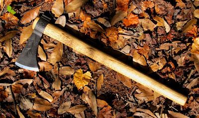 Albert Rasch, Custom Handmade Tomahawk, Iroquois Tomahawk