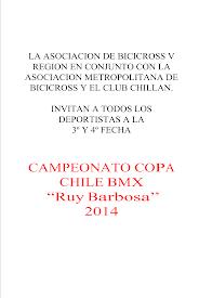 COPA CHILE RUY BARBOSA