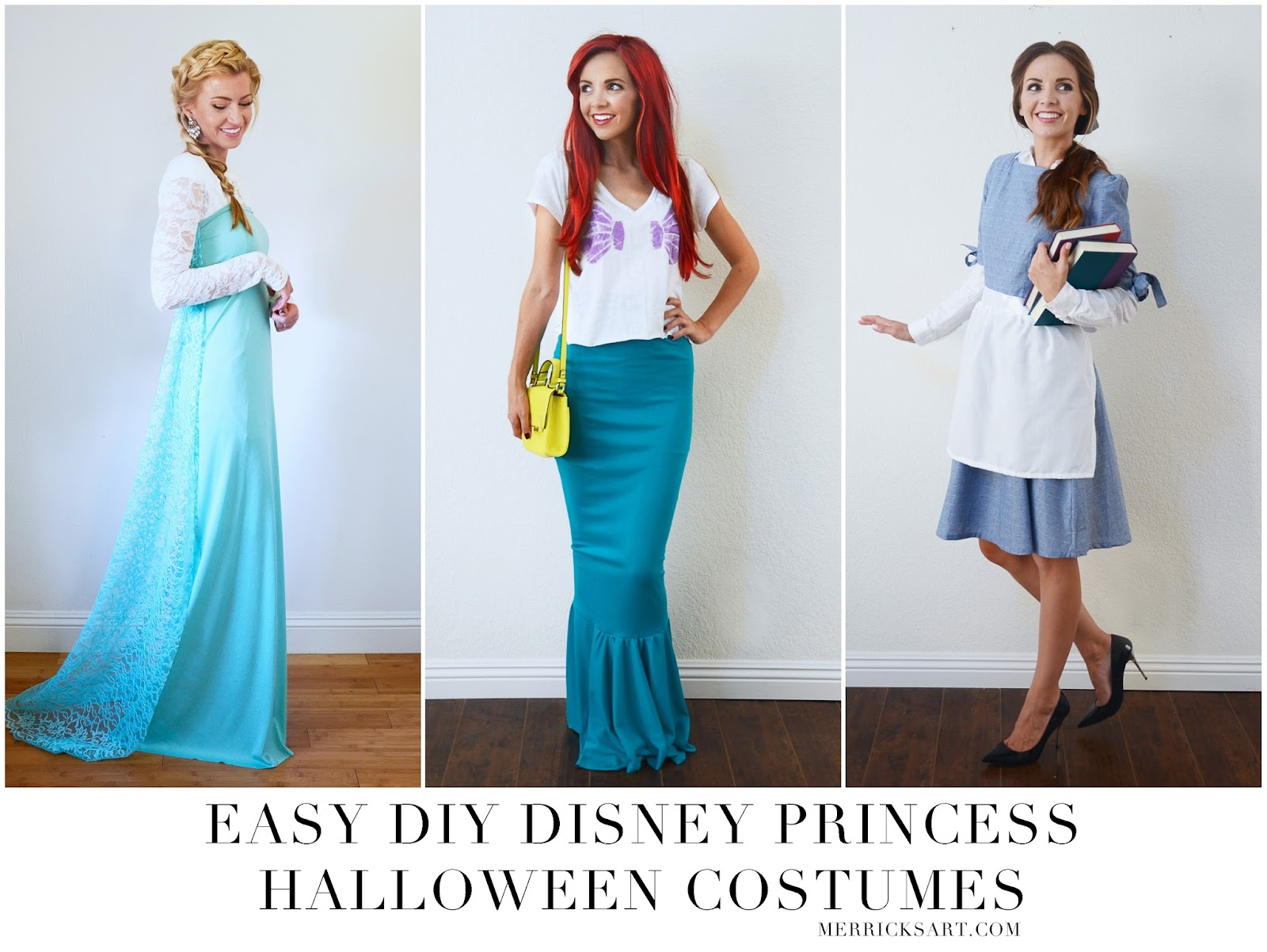 (you can see pictures from the party over on my instagram!)  sc 1 st  Boutique Art & Boutique Art: HOMEMADE HALLOWEEN: DIY DISNEY PRINCESS HALLOWEEN COSTUMES