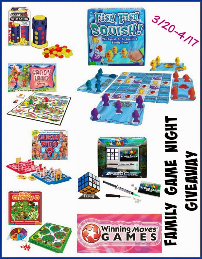 Enter the Winning Moves Games Family Game Night Giveaway. Ends 4/17