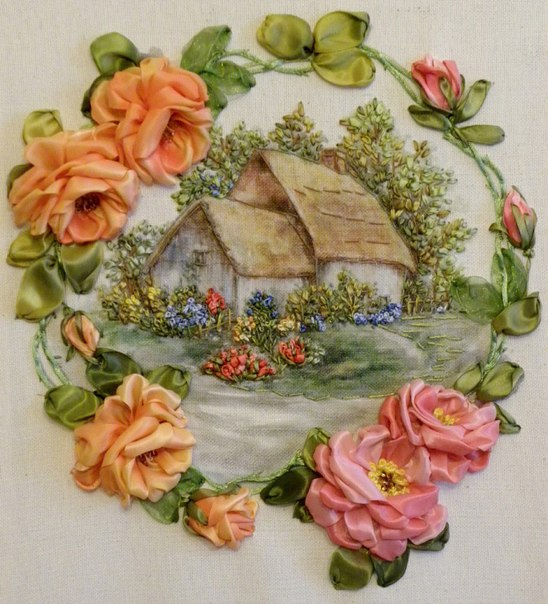 Silk Ribbon Embroidery  Home Decorating Ideas