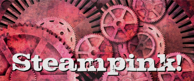 steampink, steampunk, steampunk gears, steampunk gifts, pink
