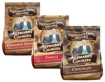 Newmans Own Organics ABC cookies