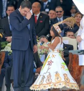 Honduras,toma de posesion presidente Honduras