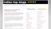 example of a simple blog design