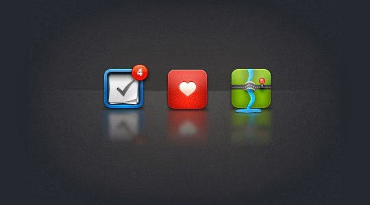 iPhone icons psd