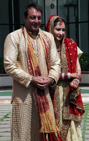 GalleryBuzz Sanjay Dutt And Manyata Marriage 4