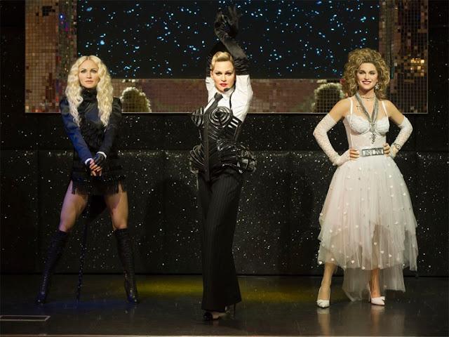 Madonna ganha três estátuas de cera em Londres