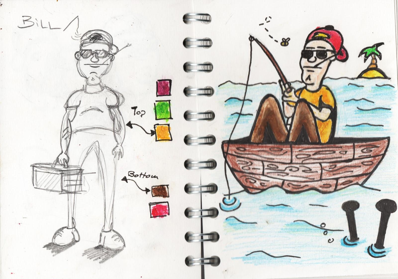 Patrick 39 s blog citv big fish character bill for Big fish characters