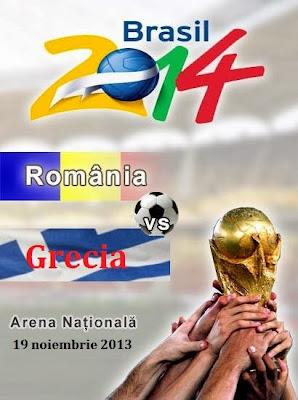 ROMANIA GRECIA in direct pe Antena 1 live 19 noiembrie 2013