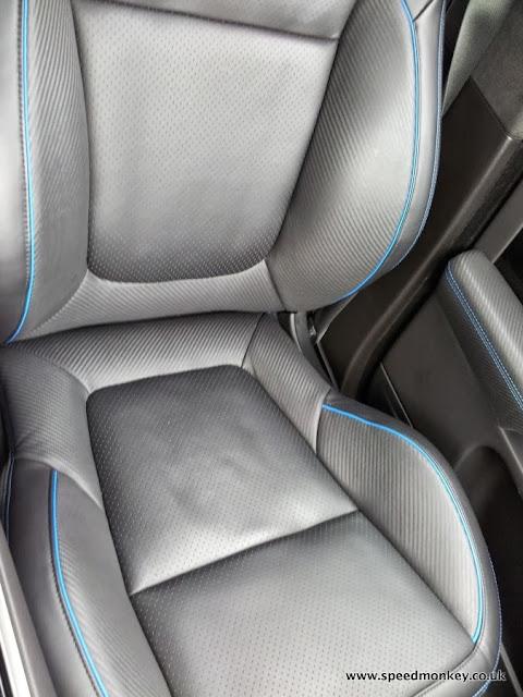 2013 Jaguar XFR-S front seats