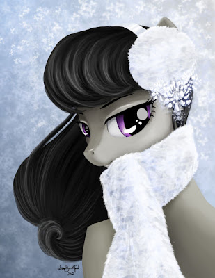 Octavia is so pretty, I love the subtle gray coloring for a pony!