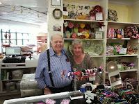 George and Ellice at Mr. Tablecloth Gatlinburg