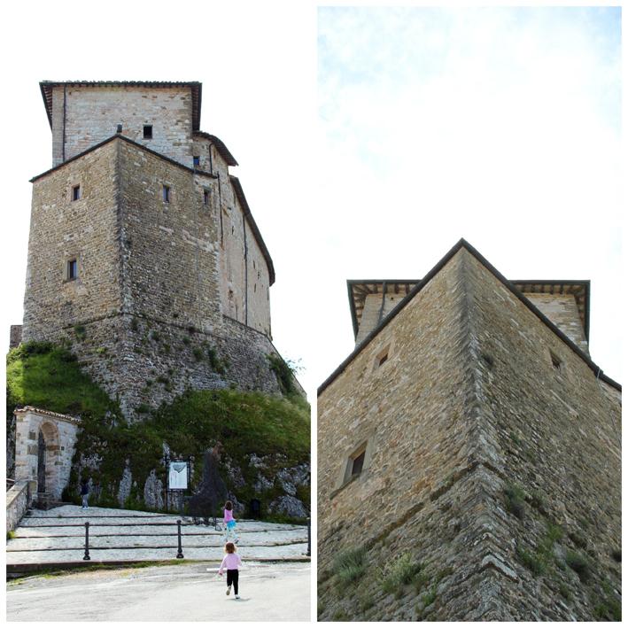 Alla scoperta della nostra regione il castello di for Castello di frontone