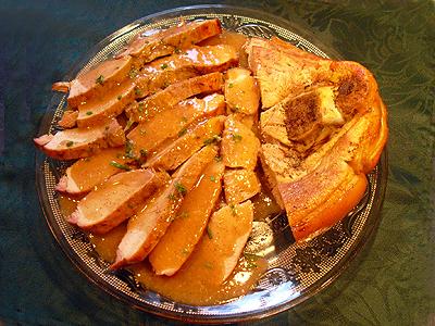 Rouelle de porc sauce mad re la recette facile par toqu s 2 cuisine - Cuisiner la rouelle de porc ...