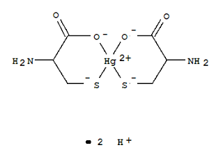 mercurio y la cistenia L-Cisteina