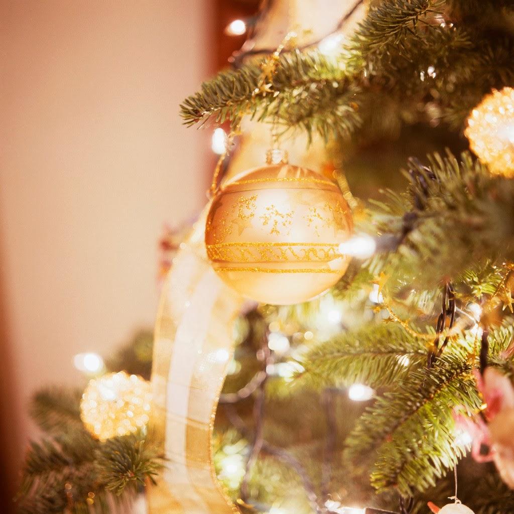 Detalle del árbol de navidad