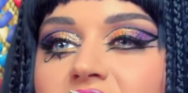 Nic. All Things: Katy Perry Dark Horse Eye Makeup Tutorial