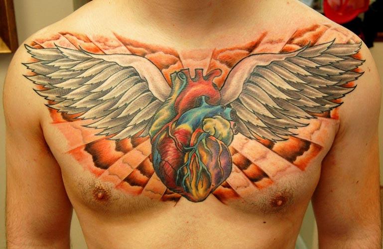 Tatuajes de corazones significado y diseos  Belagoria  la web