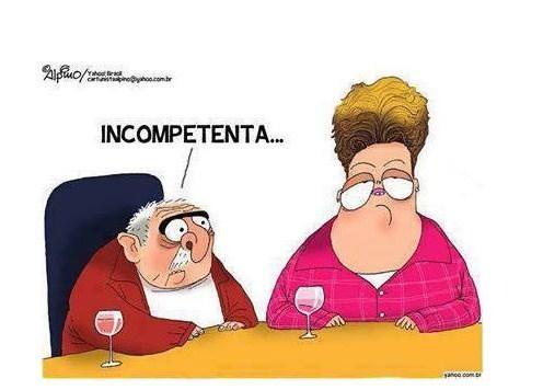 Surrealismo brasileiro- Número MMMDDDDXXXXIIIIIIZZZZZZZ... O Brasil tem uma presidente governando sem governo e um ex-presidente sem governo governando.