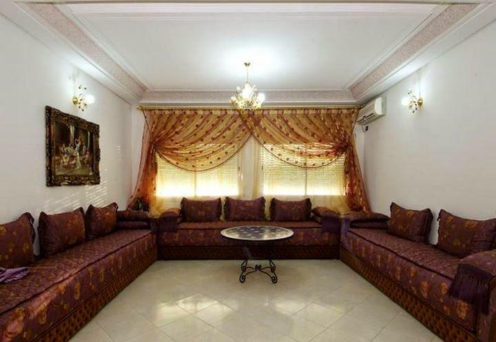 D co de plafond en platre pour salon marocain maroc caftan for Plafond platre moderne pour salon
