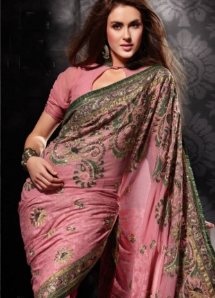 Saree-with-Blouse-Designer-Indian-Wear