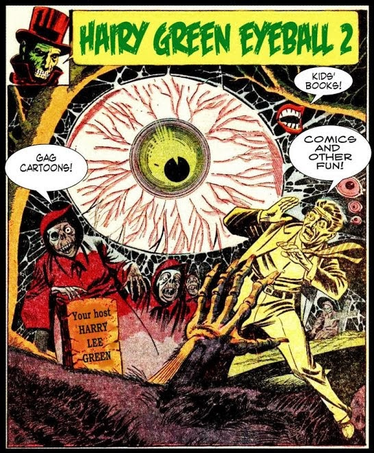 Hairy Green Eyeball II