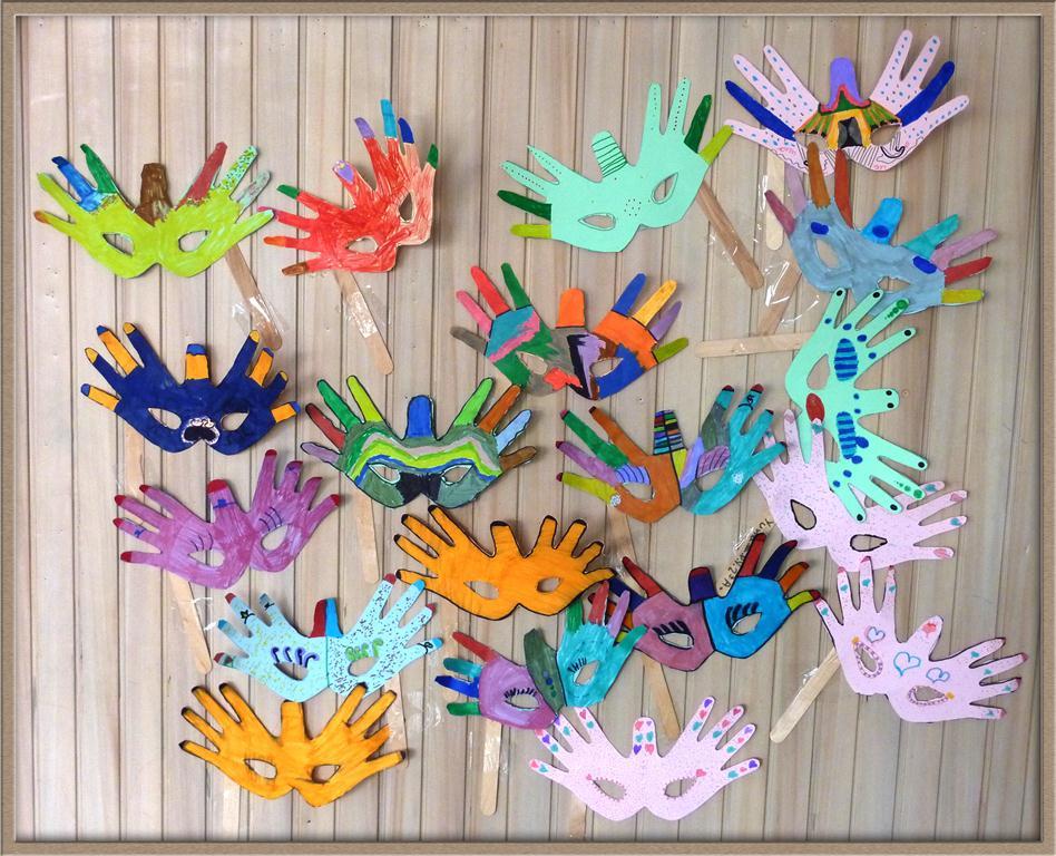 1er ciclo de primaria m scaras de carnaval - Mascaras para carnaval manualidades ...