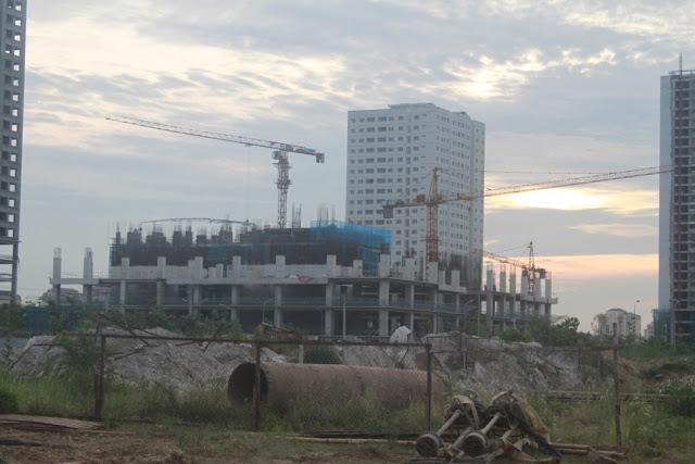 Phú Mỹ Complex Ngoại Giao Đoàn - Nghệ thuật của ngành xây dựng