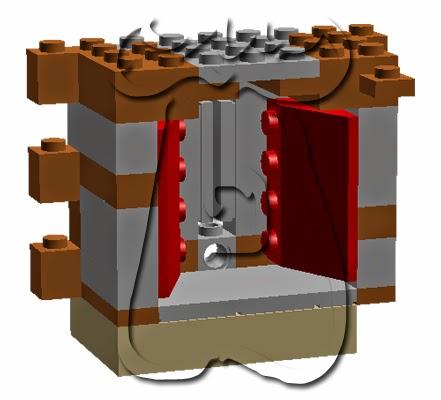 Ejemplo 1: abocinamiento interno de tronera de palo y orbe.
