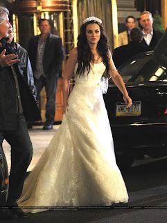 Свадьба Блер, свадебное платье