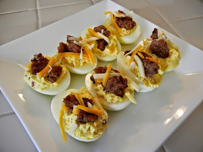 Eggface%2BBacon%2BCheeseburger%2BDeviled%2BEggs%2B(1) Weight Loss Recipes Happy National Deviled Egg Day