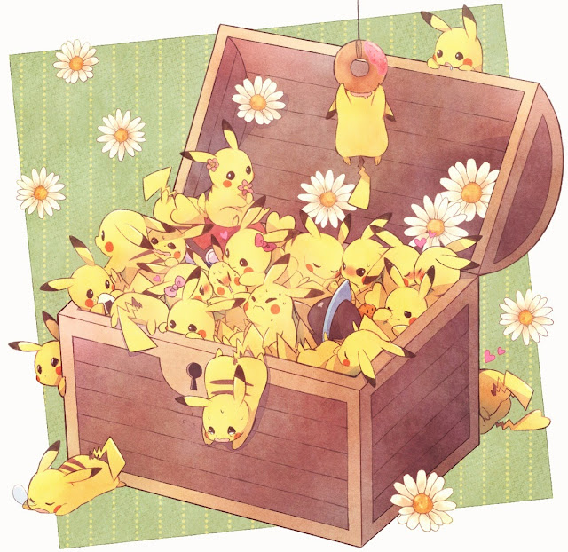 pikachu,anime cute,adorable