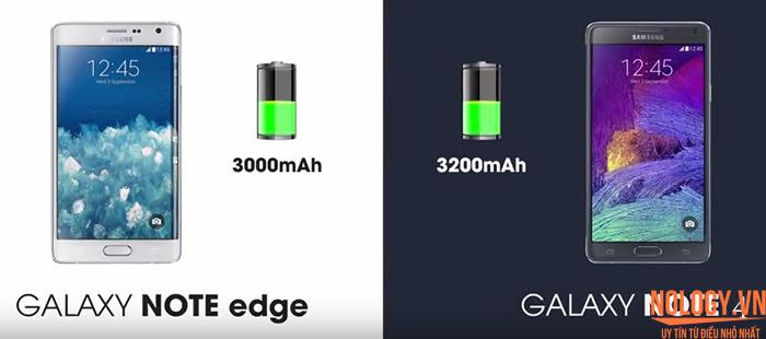 Pin của Samsung Galaxy Note Edge Docomo và note 4