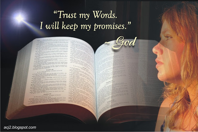 I will keep my promises for you - God