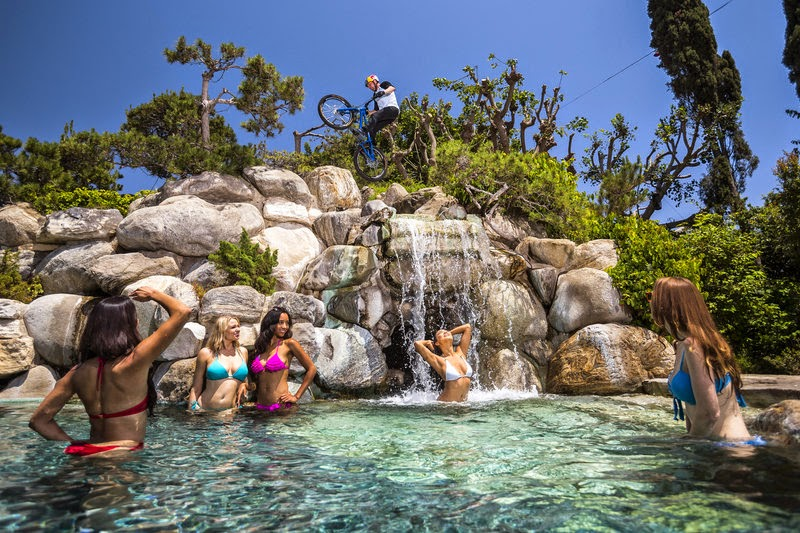 Danny MacAskill New Video at Playboy Mansion