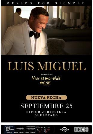 Luis Miguel en Querétaro