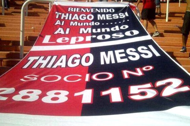¡Thiago Messi ya es socio de Newell's Old Boys!