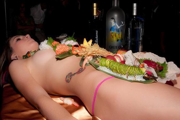 Sushi khỏa thân 15