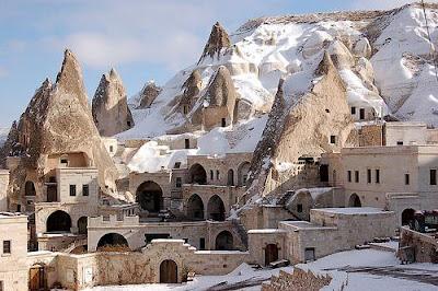 Casas en la montaña y subterraneas en Capadocia - Turquía - que visitar