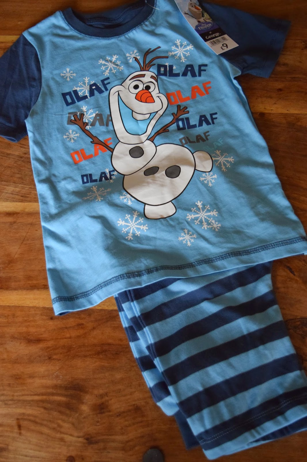 Asda haul boys frozen pyjamas