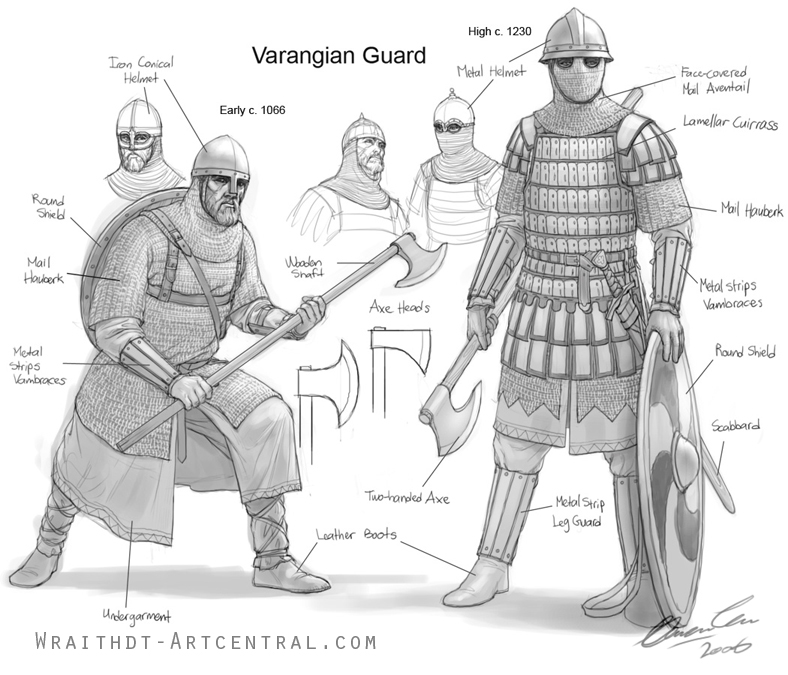 About the Byzantines Varangian_Guard