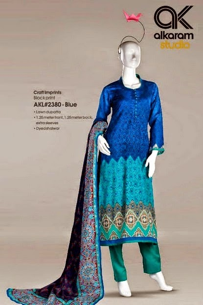 Best Salwar Suit by Alkaram