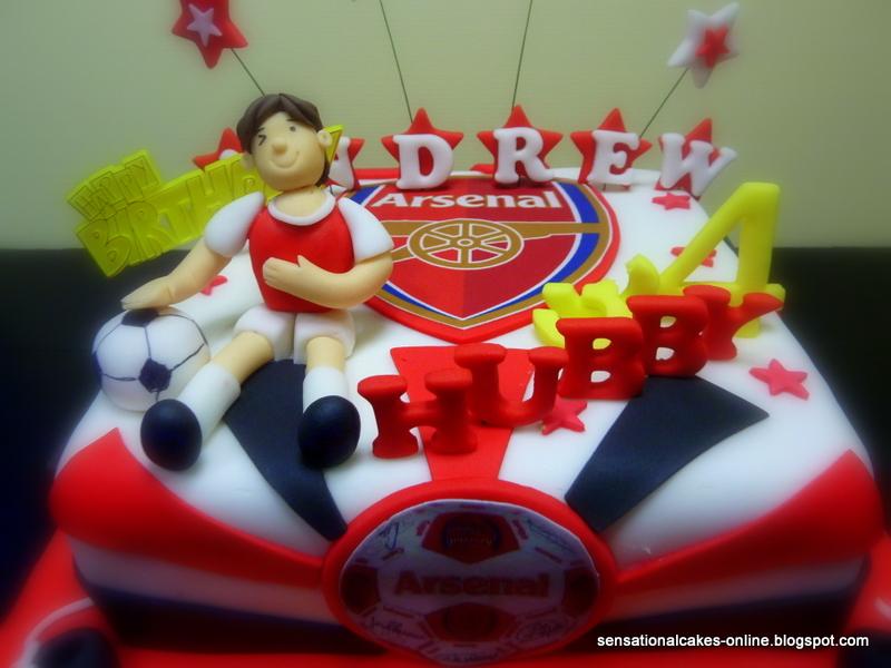 Cakeinspiration Singapore Arsenal Football Club 3d