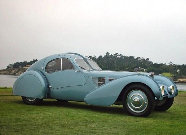 Bugatti 1936 Type 57SC Atlantic Sells For a Record  30 Million