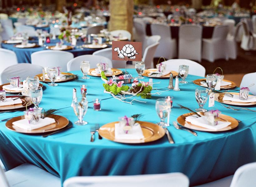 E venue events management turquoise blue wedding colour theme for Turquoise gold wedding theme