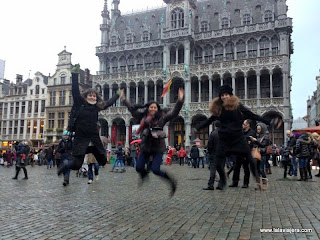 Jumping Gran Place Bruselas