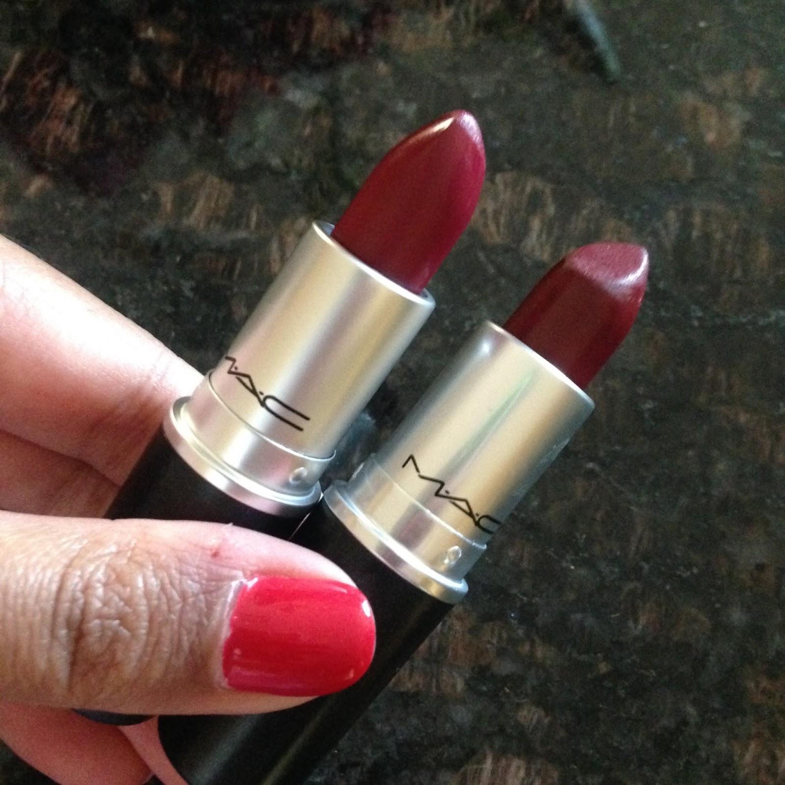 Mac d for danger and diva plus diva 39 s dupe floraful - Mac cosmetics lipstick diva ...